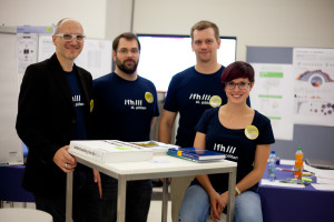 Team at European Researchers' Night